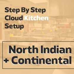 Cloud Kitchen 250 Sq. Ft. Consulting - (North Indian + Continental)