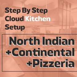 Cloud Kitchen 350 Sq. Ft. Consulting - (Triple Cuisine B)