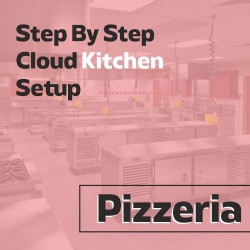 Cloud Kitchen 150 Sq. Ft. Consulting - (Pizzeria)