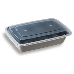 Rectangular Container 750 ml with Lid (Pack of 1000)