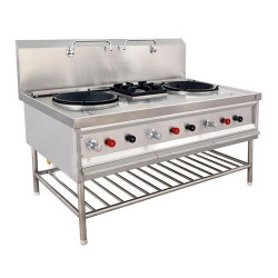 3 BURNER CHINESE GAS RANGE
