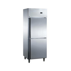 Vertical 2 door fridge